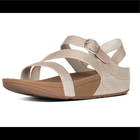 038b1bcd5436a Fitflop The Skinny leather strap sandals